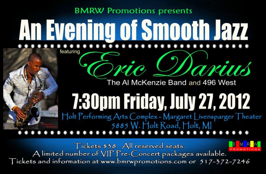 2012 An Evening of Smooth Jazz featuring Eric Darius