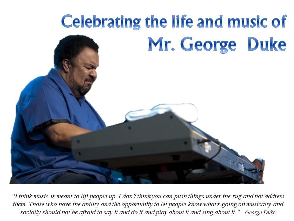Rembering George Duke 08062013