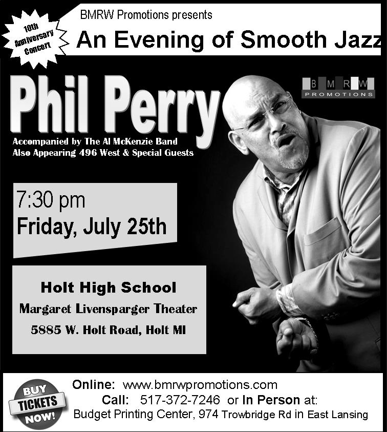 Phil Perry headlines a fantastic evening of Jazz