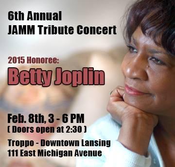 Jazz JAMM Betty Joplin Tribute  2015