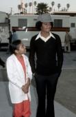 Janet Jackson and Michael Jackson at the Santa Monica Civic Auditorium in Santa Monica, California (Photo by Ron Galella/WireImage)