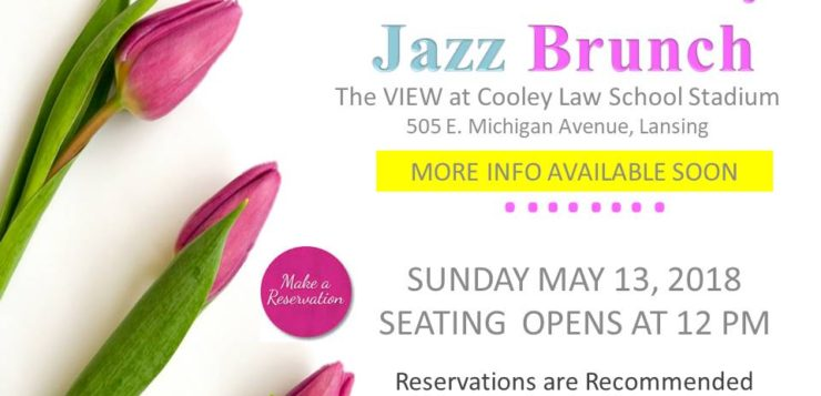 Mother's Day Jazz Brunch May 13th